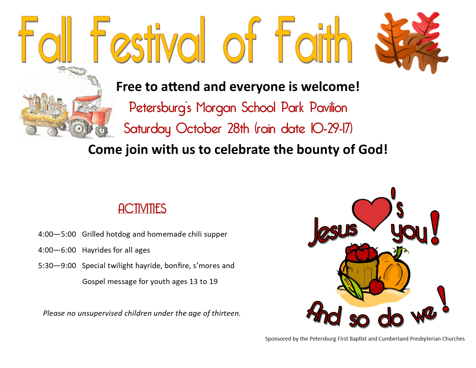 Fall Festival of Faith